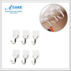 Acare - Self Adhesive Wall Hook Set