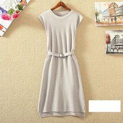 Clementine - Plain A-line Dress