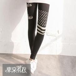 Tokyo Fashion - Printed Leggings