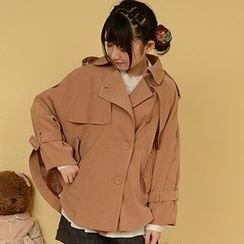 Moriville - Single-Breasted Trench Jacket