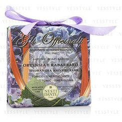 Nesti Dante - Gli Officinali Soap - Hydrangea and Rhubarb - Tonic and Energizing