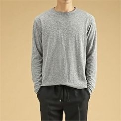 THE COVER - Colored Round-Neck T-Shirt