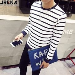 Jacka - Long-Sleeved Striped T-Shirt