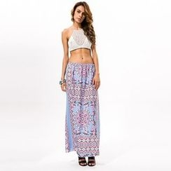 Hotprint - Patterned Maxi Skirt