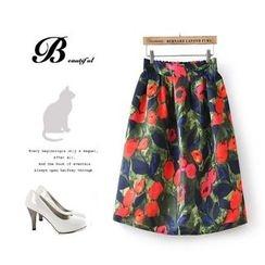 Ainvyi - Floral Midi Skirt