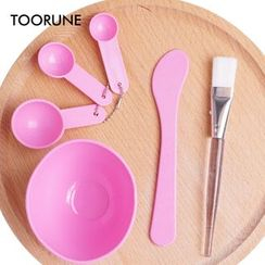 TOORUNE - Set of 6: DIY Facial Mask Tools