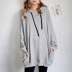 DEEPNY - Hooded Pullover Dress