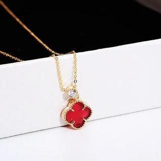 Love Generation - Crystal Clover Necklace