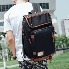 SeventyAge - Faux-Leather Backpack