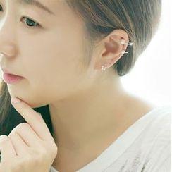 Ticoo - Faux Pearl Ear Cuff