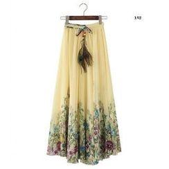 JVL - Floral Long Skirt