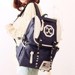 Canvas Love - Double Buckled Lightweight Backpack