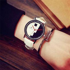 Moska - Two Tone Strap Watch