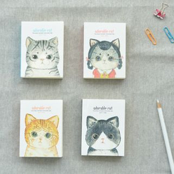 Cutie Bazaar - Cat Print Pocket Notebook