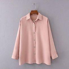 艾女 - 純色襯衫