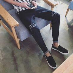 JORZ - Lettering Straight-Cut Jeans