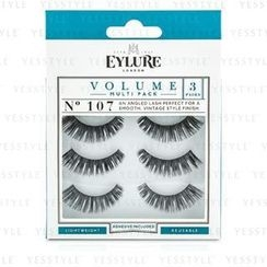 eylure - Volume False Lashes Multipack - 107 Black (Adhesive Included)