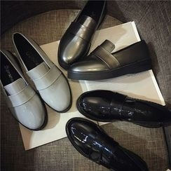 Hipsole - Faux-Leather Patent Loafers