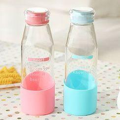 Class 302 - Lettering Water Bottle