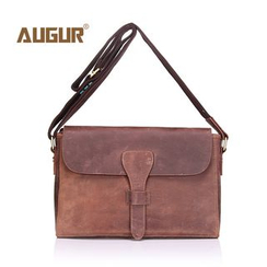 AUGUR - Genuine Leather Shoulder Bag