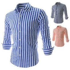 Hansel - Striped Long Sleeve Shirt
