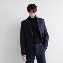 Seoul Homme - Single-Breasted Blazer