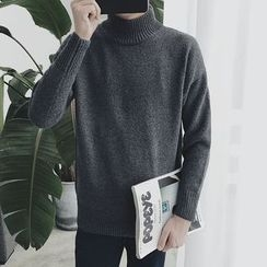 Soulcity - High Neck Sweater