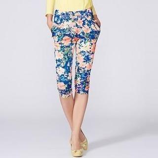 O.SA - Floral Cropped Pants