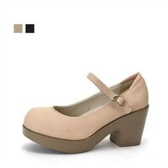 MODELSIS - Platform Mary Jane Pumps