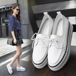 Banaba - 厚底系带轻便鞋