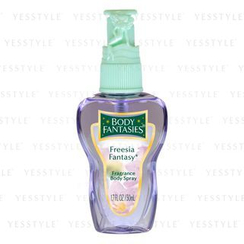 Body Fantasies - Fragrance Body Spray (Freesia Fantasy)