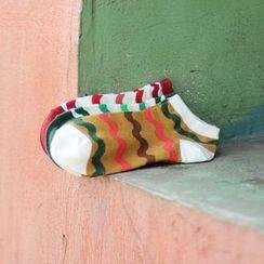 Gemini - Wave Print Socks