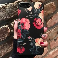 Hachi - Floral Print Phone Case - Apple iPhone 6 / 6 Plus / 7 / 7 Plus
