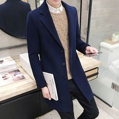 Besto - Knit Lapel Coat