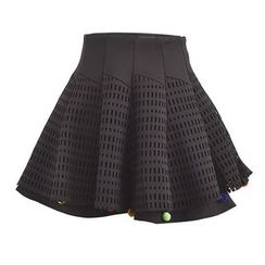 Moriville - Balled A-line Skirt
