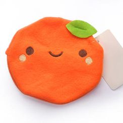 ioishop - Orange Hand Warmer Pouch- Orange