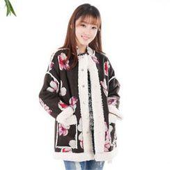 11.STREET - Wool Long-Sleeved Padded Jacket