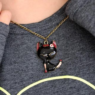 59 Seconds - Cat Necklace