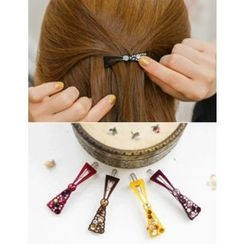 soo n soo - Rhinestone Bow Hair Pin