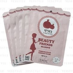 MITOMO - Beauty Friends Season II Essence Mask (Pomegranate)
