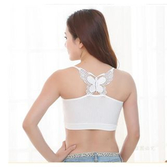 Dream a Dream - Butterfly Back Cropped Camisole