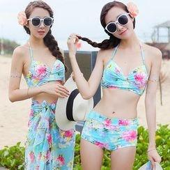 Beach Date - Floral Bikini Set