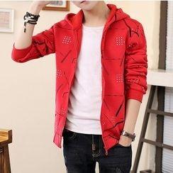 Best Gang - Hooded Printed Jacket