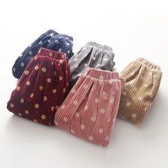 Seashells Kids - Kids Dotted Corduroy Pants