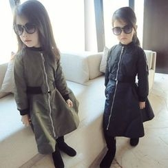 Spring Swallow - Set: Kids Padded Jacket + Skirt