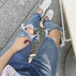 MATO - Distressed Jeans