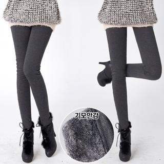 ANNINA - Brushed-Fleece Leggings