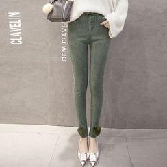 Clover Dream - Pompom Skinny Jeans
