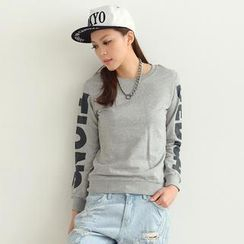 SO Central - Print Sleeve Pullover