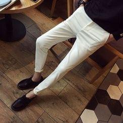DUKESEDAN - Plain Slim-Fit Pants